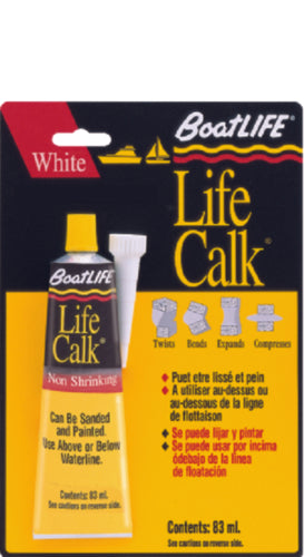 BoatLIFE Life-Calk Polysulfide Sealant White 1oz 1305