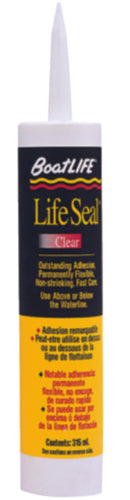 BoatLIFE LifeSeal Sealant Clear 10.6oz 1169