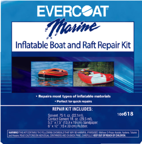 Evercoat Inflatable Boat Repair Kit 100618
