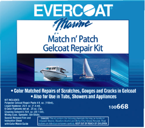 Evercoat Match N Patch Repair Kit 4oz 100668