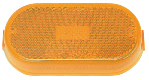 Anderson Trailer E114A Clearance//Side Marker Light W//Reflector Amber Stud