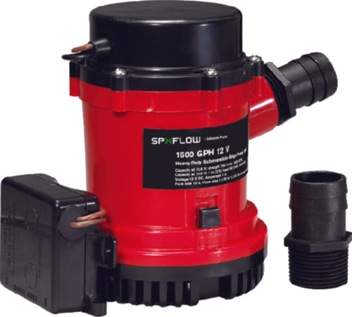 Johnson Ultima Auto Bilge Pump H/D 1600gph 01674-001