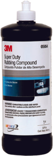 3M Rubbing Compound Super Duty 32oz 05954