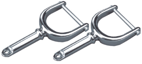 "Seadog Oarlock Horns 1/2"" Chrome Pr 580411-1"