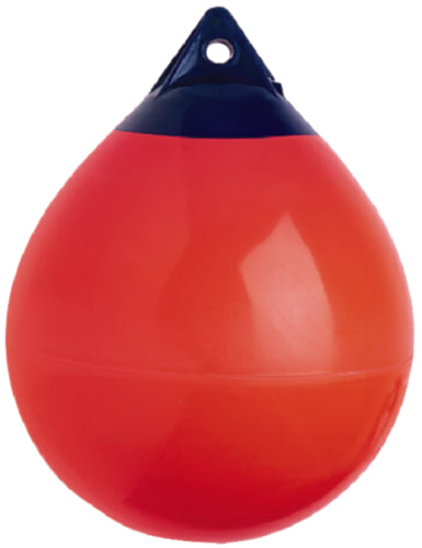 "Polyform A-Series Anchor/Mooring Buoy Red 8"" A-0R"