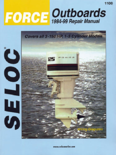 Seloc Manual Force O/B 1984-1999 1100