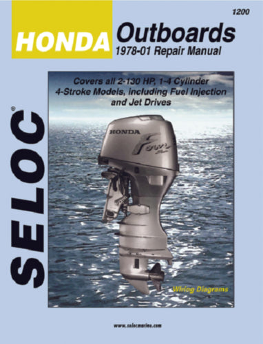 Seloc Manual Honda O/B 1978-2001 1200