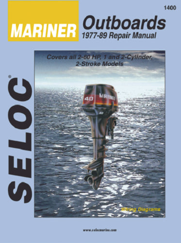 Seloc Manual Mercury/Mariner O/B 1977-1989 1400
