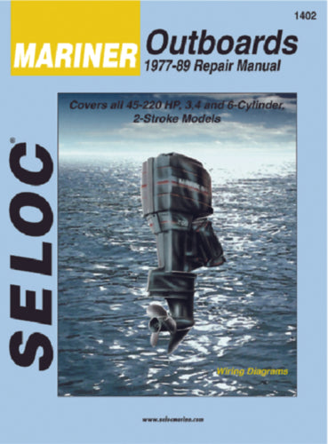 Seloc Manual Mariner O/B 1977-1989 1402