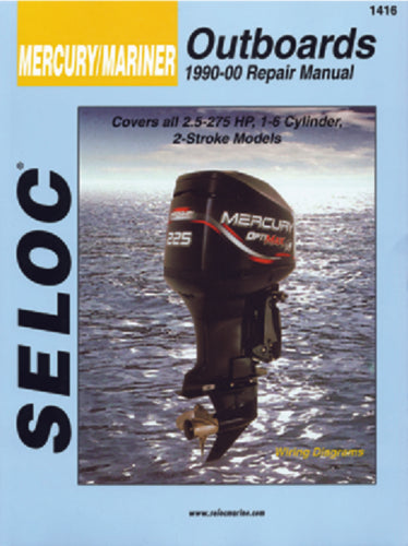 Seloc Manual Mercury/Mariner O/B 1990-2000 1416