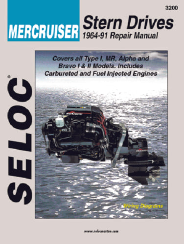 Seloc Manual Mercruiser Sterndrive 1964-1991 3200