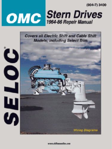 Seloc Manual OMC Sterndrive 1964-1986 3400