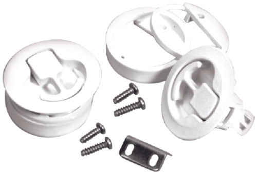 "T-H Marine Slam Latch 1/16""x7/8"" White NFSL-52-DP"