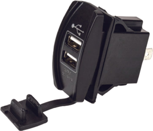 Seadog Double USB Rocker Switch Power Socket 426520-1