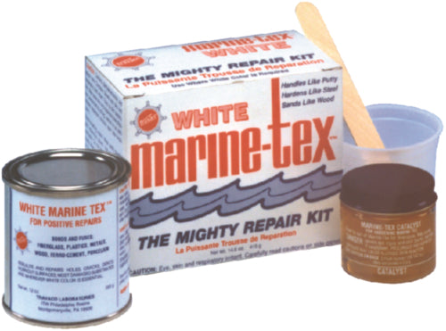 Marine Tex Epoxy Putty 3/4lb White RM306K