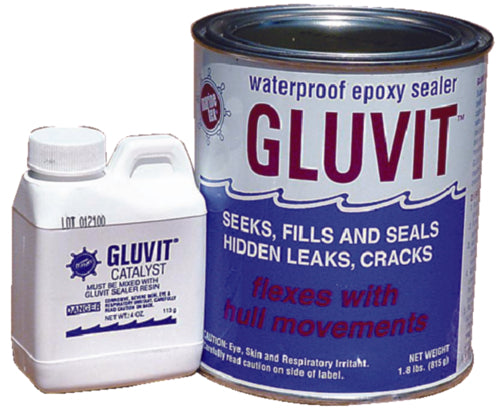 Marine Tex Gluvit Waterproof Epoxy Sealer 2lb Kit RM330K