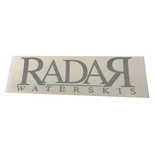 "Radar 10"" Die Cut Black 
