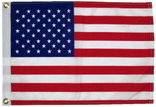 "Taylor U.S. 50 Star Flag 12"" Nylon 2418"