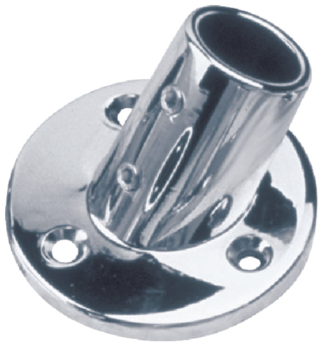 "Seadog Rail Fitting Round 60' 7/8"" Chrome 286060-1"