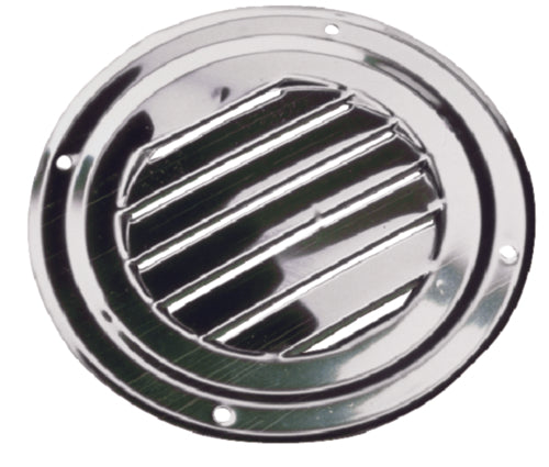 "Seadog Louvered Vent Round 5"" S/S 331425-1"