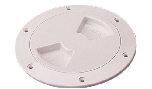 "Seadog Deck Plate Quarter-Turn 5-1/2"" White Textured 336352-1"