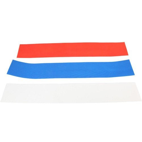 Eight.3 Wake Boat Velcro Kit XL 2-Piece Blue | 2020