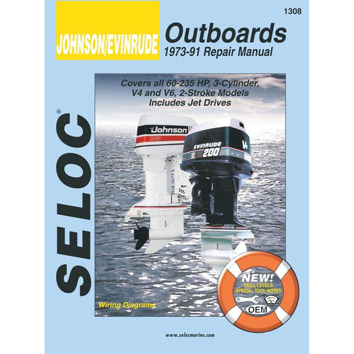 Seloc Manual Johnson/Evinrude O/B 1973-1991 1308