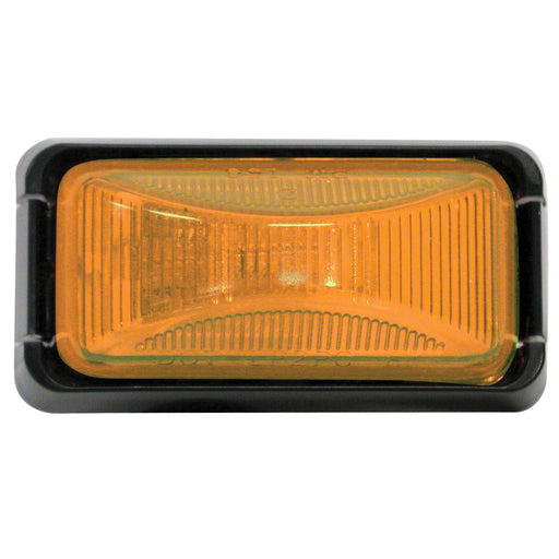 Anderson Clearance & Side Marker Light Amber/Black E150BKA