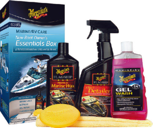 Meguiars New Boat Owners Box M6385