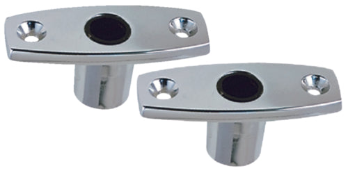 Perko Top Mnt Rowlock Sockets Chrome Pr 1185-DP0-CHR