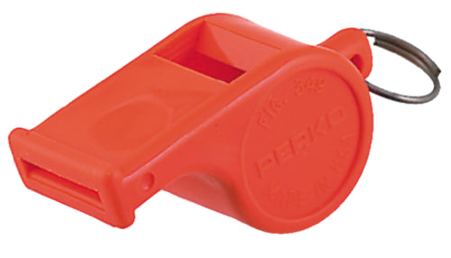 Perko Safety Whistle Ball Type Orange 0349-DP