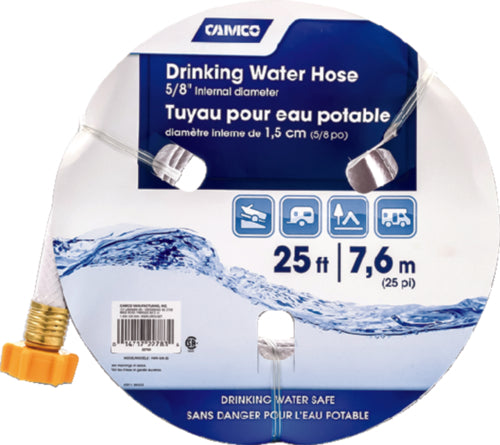 "Camco Fresh Water Hose 5/8""x25ft 22783"