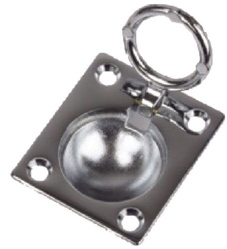 "Seadog Ring Pull 1-1/2"" Chrome 222400-1"