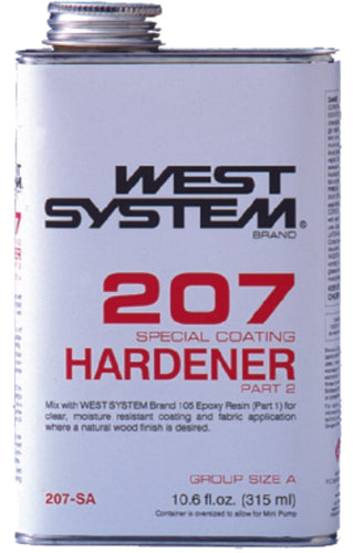 West System Special Clear Hardener Only Pt 207-SA