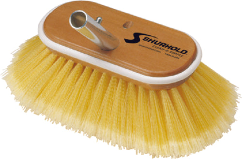 "Shurhold Deck Brush Soft Yellow 6"" 960"