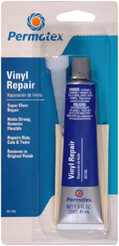 Permatex Super Clear Vinyl Sealant Repair Kit 1.5oz 81786