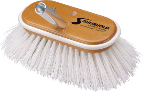 "Shurhold Deck Brush Stiff White 10"" 990"