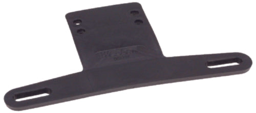 Wesbar Trailer License Plate Bracket Black 003211