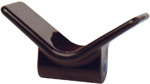 "Tie Down V Bow Stop 3""x1/2"" Black 86413"
