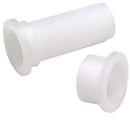 "Seachoice Splashwell Drain Tube 1"" White 50-19121"
