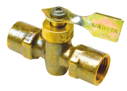 "Seachoice 2-Way Fuel Line Valve 1/4"" Brass 50-20721"
