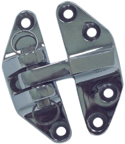 "Seachoice Hatch Hinge 2-3/8""x2-7/8"" Chrome Ea 50-35101"