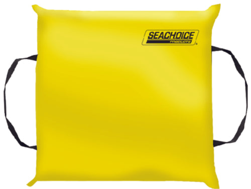 Seachoice Type IV Safety Throw Cushion Yellow 50-44900