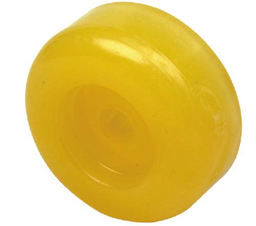"Yates Roller End Cap 3"" Yellow 0777336"