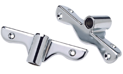 "Seachoice Side Mnt Oarlock Sockets 1/2"" Chrome Pr 50-70421"