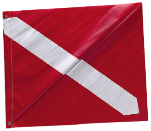"Seachoice Diver Down Flag 20""x24"" Nylon 50-78231"