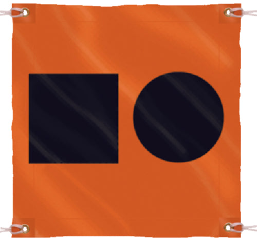 Seachoice Distress Signal S.O.S Flag 3ftx3ft 50-78341