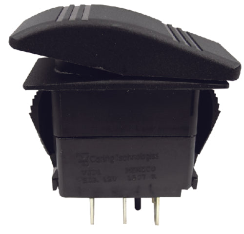 Seachoice Contura Rocker Switch On/Off/On(DPDT) Black 50-12841