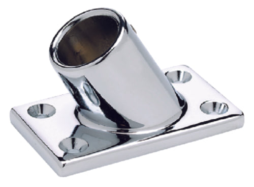 "Seachoice Rail Fitting Rectangle 60' 7/8"" Chrome 50-37901"