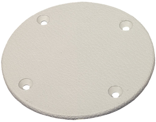 "Seachoice Cover Plate 5-5/8"" Arctic White 50-39601"